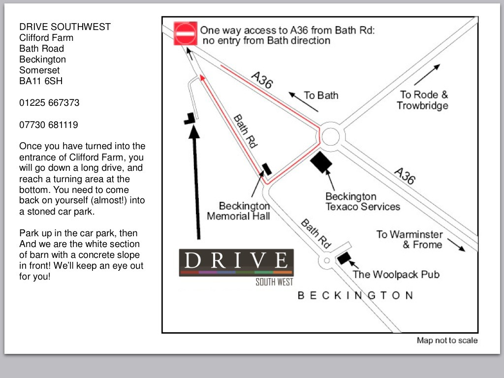 Drive SW Map