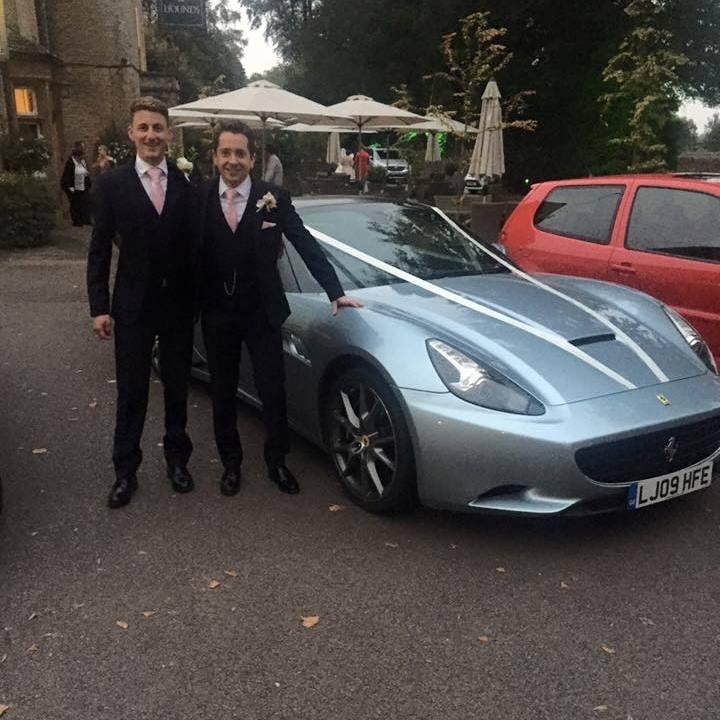 Ferrari Wedding1 Drive South West Luxury Prestige Sports Car